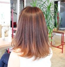 みずみずしくツヤのある美しい髪