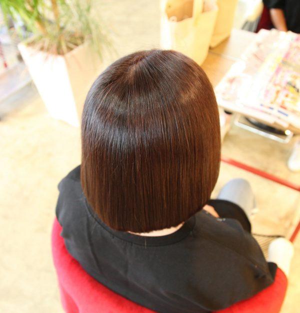 【シルクすトレート縮毛矯正】前橋美容室縮毛矯正髪質改善トリートメント白髪染サムネイル